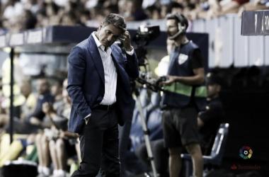 Míchel en un partido esta temporada | Foto: LaLiga.com