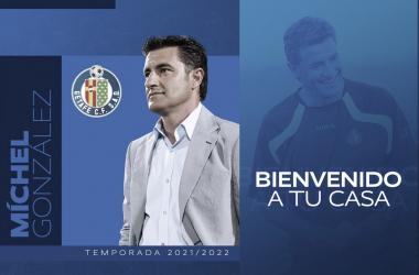 Míchel, entrenador del Getafe // Fuente: Getafe CF