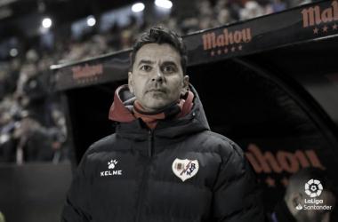 Michel en uno de los encuentros | Foto: LaLiga Santander