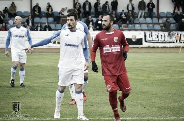 Migue Montes, de los mejores ante el Olivenza FC | Foto: Mérida AD