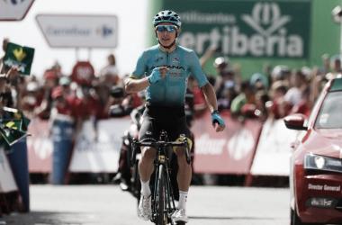 Miguel Ángel López consiguió dos triunfos de etapa en la pasada Vuelta a España | Fotografía: Vuelta a España