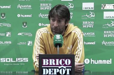 """Miguel Falcón: """"El Toralín es el sitio perfecto para intentar sacar los tres puntos y hacer un buen partido"""""""
