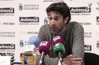 """Miguel Falcón: """"Hemos hecho un partido espectacular, merecidamente nos hemos llevado los tres puntos"""""""