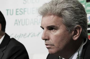 """Miguel Guillén: """"La afición no decide quién debe estar en el Betis o no"""""""