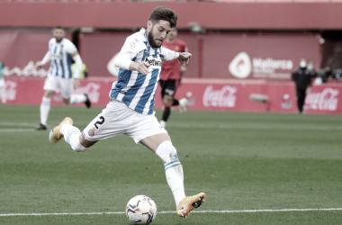 Miguelón en el partido contra el Mallorca. Foto: RCD Espanyol