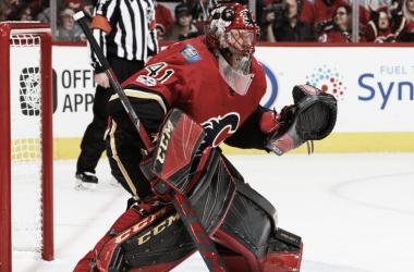 Los Flames buscan reforzar la portería con miras a los playoffs | Foto: NHL.com