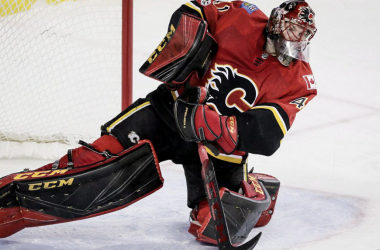 "<div>MIke Smith's erratic play has lost him his starting job to backup David Rittich for now. | Photo:  (Lyke Aspinall/CP<font color=""#8a9299"" face=""pt-serif, georgia""><span>)</span></font></div>"