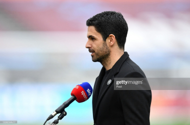 "Arteta's side struggled to knit anything together at The Emirates Stadium. <span style=""font-style: normal;"">Getty images: Pool.</span>"