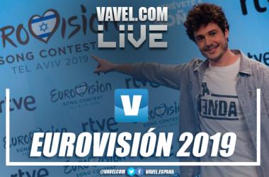 Cobertura en directo de la Gran Final de Eurovisión 2019. Fotomontaje: Javier Jábega