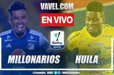 Resumen Millonarios vs. Huila 3-1 en la fecha 10 por Liga BetPlay 2021-II