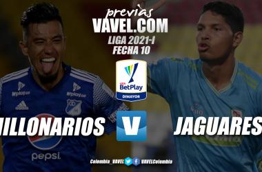 Previa Millonarios vs Jaguares: duelo por la octava casilla en la tabla de posiciones
