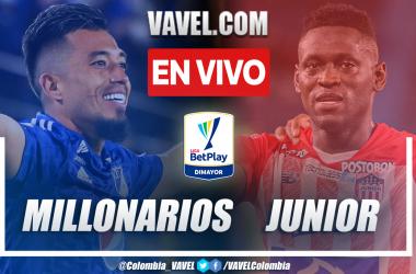 Resumen Millonarios vs. Junior 4-1 en la fecha 15 por Liga BetPlay 2021-II