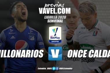 Previa Millonarios vs Once Caldas: por el último cupo el final de la Liguilla