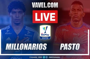 Resumen Millonarios vs Pasto (3-1) en la fecha 7 por Liga BetPlay 2021-I