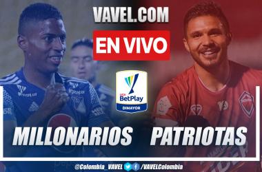 Resumen y goles: Millonarios 1-0 Patriotas Boyacá en la fecha 8 por Liga BetPlay 2021-II