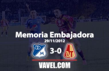 Memoria Embajadora, Millonarios vs Deportes Tolima: una goleada acercaba a la anhelada estrella 14