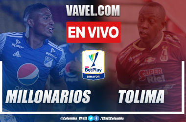 Resumen Millonarios vs. Tolima (1-2) en la final de la Liga BetPlay 2021-I