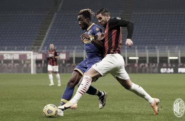 Milan sai em desvantagem, mas busca empate diante do Parma nos acréscimos