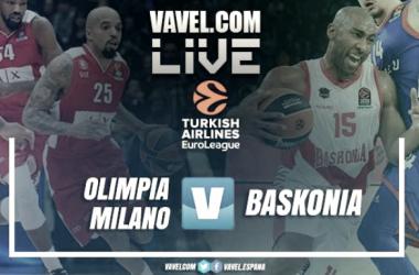 Euroliga en vivo: Armani Exchange Olimpia Milan vs Baskonia en directo online (92-85)