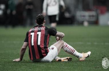 Ibrahimovic lamenta eliminação do Milan na Europa League
