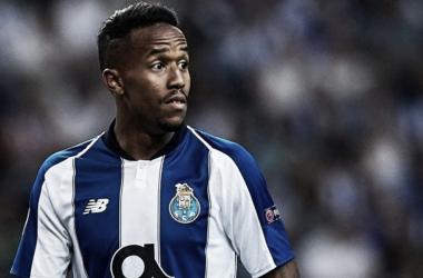 Militao con el Oporto. Imagen: UEFA