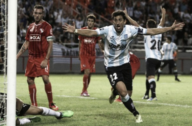 Los goles de Milito a Independiente