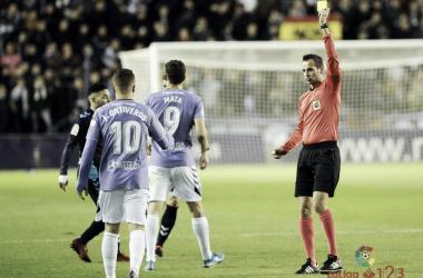 Milla Alvendiz en un partido de la pasada temporada / Foto: Laliga123