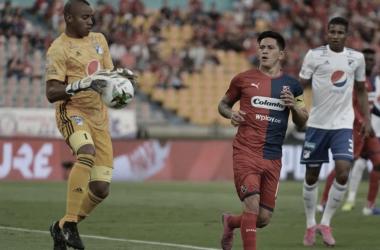 Independiente Medellín cayó ante Millonarios y se alejó de los ocho clasificados