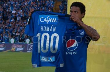 Roman Torres: goleada y 101 partidos jugados