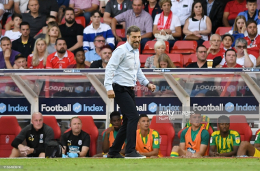 Slaven Bilic, Manager of West Bromwich Albion during the Sky Bet Championship match between Nottingham Forest and West Bromwich Albion at the City Ground, Nottingham on Saturday 3rd August 2019. (Photo by Jon Hobley/MI News/NurPhoto via Getty Images)