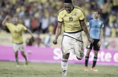 Yerry Mina, jugador de la Selección Colombia / Archivo Vavel.