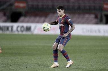 Philippe Coutinho en un encuentro con el FC Barcelona / Fuente: Página oficial del FC Barcelona