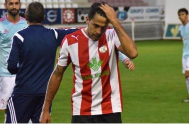 Sergi Mut al fin del partido | foto: zamora24horas