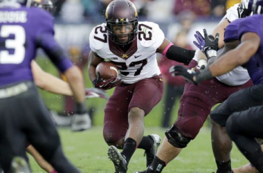 Running back David Cobb is expected to produce another strong season for the Gophers. (Image: Nam Y. Huh, Associated Press - AP)