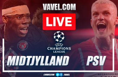 Goal and highlights: Midtjylland 0-1 PSV in UEFA Champions League 2021 qualifying round