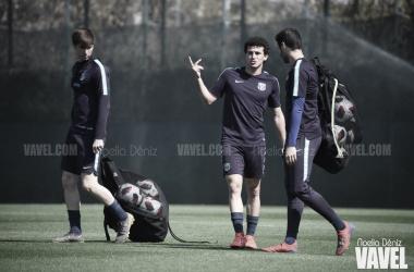 Miranda y Abel regresaron tras estar convocados con la selección sub 21 / Foto: Noelia Déniz (VAVEL.com)