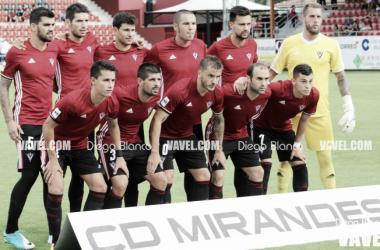 El Mirandés avanza en la Copa del Rey. | Foto: Diego Blanco (VAVEL)