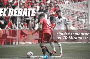 Foto: CD Mirandés | Montaje: Santiago Arxé Carbona (VAVEL)