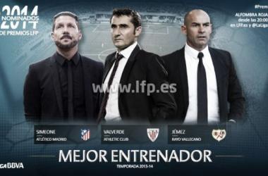 Ernesto Valverde, nominado a 'Mejor Entrenador de la Liga 2013/2014'