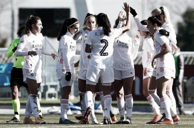 El Real Madrid Femenino empieza 2021 a todo gas