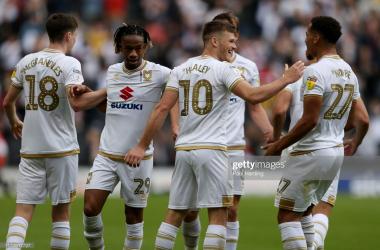 Rhys Healey celebrates via Getty Images-Paul Harding