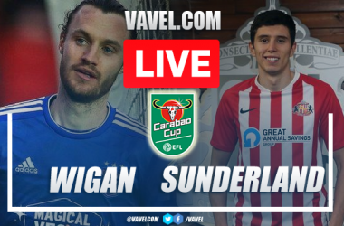 Wigan vs Sunderland: Live Stream, Score Updates and How to Watch in Carabao Cup