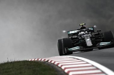Bottas transitando el circuito | Foto: Fórmula 1