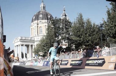 Miguel Angel Lopez, vincitore della scorsa edizione della Milano-Torino. Fonte: Milano-Torino.it