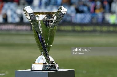 MLS Cup trophy. (Getty Images - Scott Halleran)