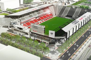 Audi Field is set to open by late June. | Source: D.C. United