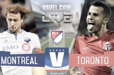 Score Montreal Impact 3-2 Toronto FC in Audi 2016 MLS Playoffs