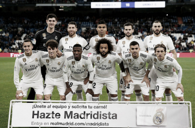 Once blanco ante el Girona I Foto: Real Madrid C.F.