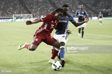 Renato Sanches já vestiu a camisola do Bayern Munique.
