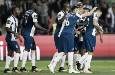 El Oporto celebra la victoria ante el Portimonense | FOTO: Web oficial FC Oporto